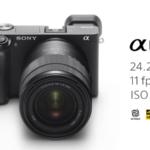 Sony обявиха новият си безогледален фотоапарат A6400