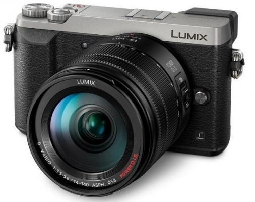 Фотоапарат Panasonic Lumix DMC-GX80 Silver тяло + Обектив Lumix G vario 14-140mm / F3.5-5.6 ASPH. / POWER O.I.S.