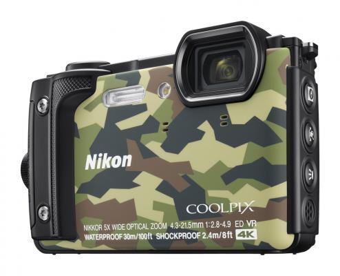 Фотоапарат Nikon COOLPIX W300 Camouflage + ВОДОУСТОЙЧИВА РАНИЦА