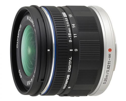 Обектив Olympus M.Zuiko Digital ED 9-18mm f/4.0-5.6