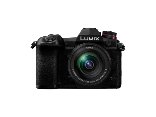 Фотоапарат Panasonic Lumix G9 Black + Обектив Panasonic Lumix G VARIO 12-60mm f/3.5-5.6 ASPH. POWER O.I.S.