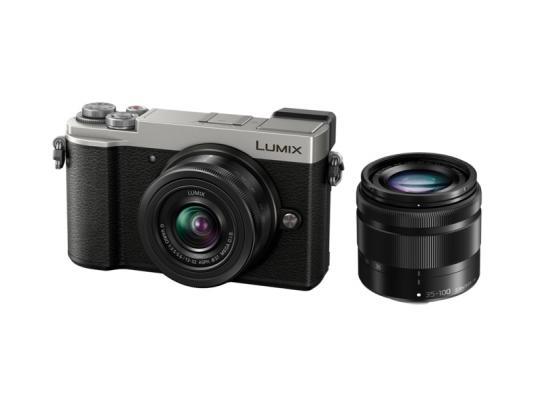 Фотоапарат Panasonic Lumix GX9 Silver + Обектив Panasonic LUMIX G VARIO 12-32mm f/3.5-5.6 ASPH. MEGA O.I.S. + Обектив Panasonic LUMIX G VARIO 35-100mm f/4.0-5.6 ASPH. MEGA O.I.S.