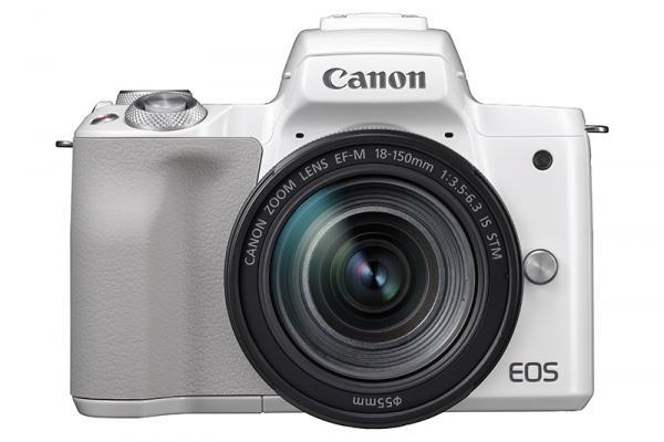 Фотоапарат Canon EOS M50 White + Обектив Canon EF-M 18-150mm f/3.5-6.3 IS STM + Памет SDXC SanDisk Ultra 64GB UHS-I U1 C10 100MB/s