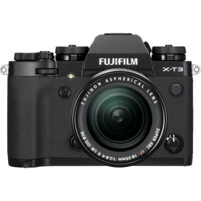 Фотоапарат Fujifilm X-T3 Black тяло + Обектив Fujifilm Fujinon XF 18-55F/2.8-4 R LM ОIS