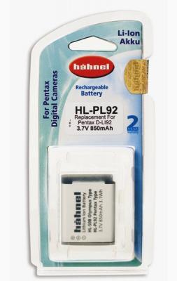 Батерия Hahnel Li-Ion HL-PL92 (заместител на Pentax D-Li92)