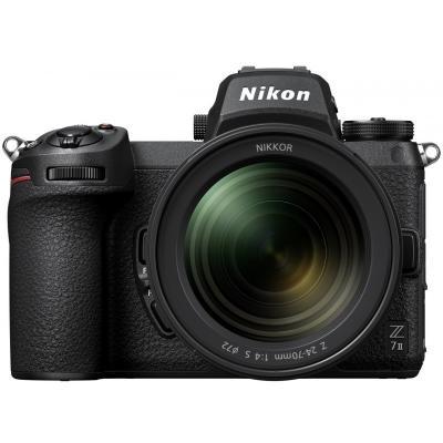 Фотоапарат Nikon Z7 II тяло + Обектив Nikon Z Nikkor 24-70mm f/4 S