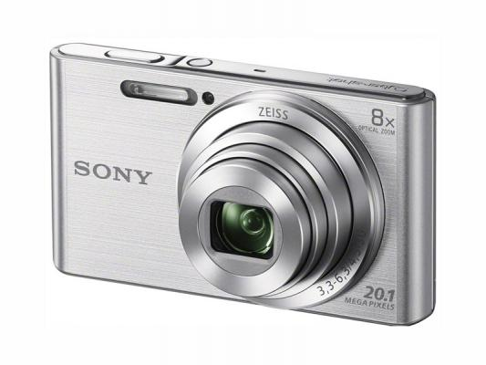 Фотоапарат Sony Cyber-Shot DSC-W830 Silver