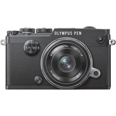 Фотоапарат Olympus PEN-F Kit (Black) +  Обектив Olympus M.Zuiko Digital 17mm f/1.8 MSC (Black)