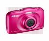 Фотоапарат Nikon Coolpix W100 Розов + раница