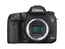 Фотоапарат Canon EOS 7D Mark II тяло + Адаптер Canon W-E1 (Wi-Fi) + Фотораница Canon Sling Bag SL100