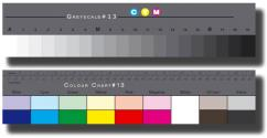 Kомплект сива и цветна скала BST13