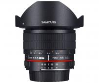 Обектив Samyang 8mm f/3.5 UMC Fish-Eye CS II за Canon M-mount