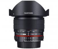 Обектив Samyang 8mm f/3.5 UMC Fish-Eye CS II за Sony E-mount