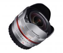 Обектив Samyang 7.5mm f/3.5 Fisheye за Micro 4/3 Silver