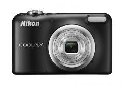 Фотоапарат Nikon Coolpix A10 Black + 4GB SD карта + Зарядно усторйство GP + 2 бр. AA x 2100mAh батерии
