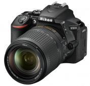 Фотоапарат Nikon D5600 Black  тяло + Обектив Nikon AF-S DX Nikkor 18-140mm f/3.5-5.6G ED VR