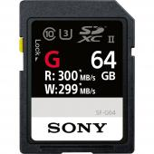 Памет SDXC Sony 64GB SF-G UHS-II (U3) (R300/W299MB/s)