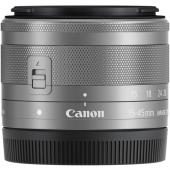 Обектив Canon EF-M 15-45mm f/3.5-6.3 IS STM Silver