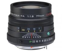 Обектив Pentax FA 77mm f/1.8 limited