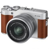 Фотоапарат Fujifilm X-A5 Brown + Обектив Fujinon XC 15-45mm f/3.5-5.6 OIS PZ