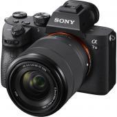 Фотоапарат Sony Alpha A7 III тяло + Обектив Sony FE 28-70mm f/3.5-5.6 OSS (SEL-2870)