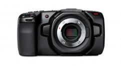 Компактна дигитална камера Blackmagic Pocket Cinema Camera 4K  + Памет SDXC SanDisk Extreme Pro 128GB C10 V30 U3 (170MB) + Клетка SmallRig за Blackmagic Design Pocket Cinema Camera 4K / 6K