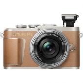 Фотоапарат Olympus E-PL9 Brown тяло + Обектив Olympus ZD Micro 14-42mm f/3.5-5.6 EZ ED MSC