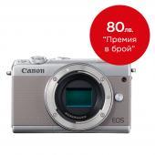 Фотоапарат Canon EOS M100 тяло Silver