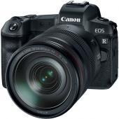 Фотоапарат Canon EOS R тяло + Обектив Canon RF 24-105mm f/4L IS USM + Адаптер Canon EF-EOS R + Памет SDHC SanDisk Extreme Pro 32GB C10 V30 U3 (95MB) + Обектив Canon RF 35mm f/1.8 IS Macro STM