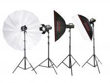 CraftLine GS II 1200 - комплект студийно осветление