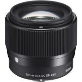 Обектив Sigma 56mm f/1.4 DC DN (Contemporary) за Sony E