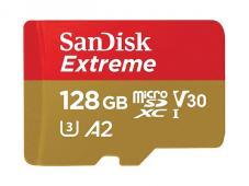 Памет microSDXC SanDisk Extreme 128GB V30-A2