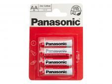Цинк-карбонови батерии AA Panasonic Special Power (LR06) 4бр