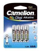 Алкални батерии AAA Camelion Digi Alkaline (LR03) 4бр