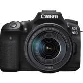 Фотоапарат Canon EOS 90D тяло + Обектив Canon EF-S 18-135mm f/3.5-5.6 IS USM