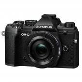 Фотоапарат Olympus OM-D E-M5 Mark III Black + обектив Olympus ZD Micro 14-42mm f/3.5-5.6 EZ ED MSC
