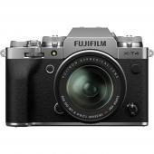 Фотоапарат Fujifilm X-T4 Silver тяло + обектив Fujifilm XF 18-55mm f/2.8-4 R LM OIS