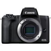 Фотоапарат Canon EOS M50 Mark II Black Тяло + Памет SDXC SanDisk Extreme 64GB UHS-I U3 C10 V30 150MB/s