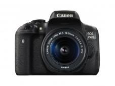 Фотоапарат Canon EOS 750D тяло + Обектив Canon EF-S 18-55mm f3.5-5.6 IS STM + Фоточанта Canon Shoulder Bag SB100