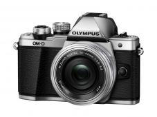 Фотоапарат Olympus OM-D E-M10 Mark II Silver тяло + Обектив Olympus M.Zuiko Digital ED 14-42mm f/3.5-5.6 EZ