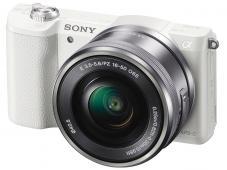Фотоапарат Sony Alpha A5100 White Kit (16-50mm OSS) + Памет SDHC SanDisk Extreme 32GB UHS-I V30 (U3) 90MB