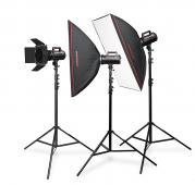 CraftLine GS-900 - комплект студийно осветление