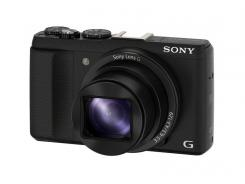 Фотоапарат Sony Cyber-Shot DSC-HX60 Black + Твърд калъф Sony LCJ-HN за Cyber-shot™ HX50