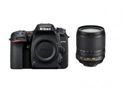 Фотоапарат Nikon D7500 тяло + Обектив Nikon AF-S DX Nikkor 18-105mm f/3.5-5.6G ED VR