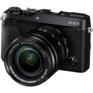 Фотоапарат Fujifilm X-E3 Черен тяло + Обектив Fujifilm Fujinon XF 18-55F/2.8-4 R LM ОIS