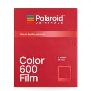 Моментален филм Polaroid 600 Color Metallic Red Frame (8 листа)