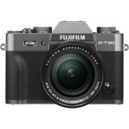 Фотоапарат Fujifilm X-T30 Charcoal Silver тяло + Обектив Fujifilm Fujinon XF 18-55 f/2.8-4 R LM ОIS